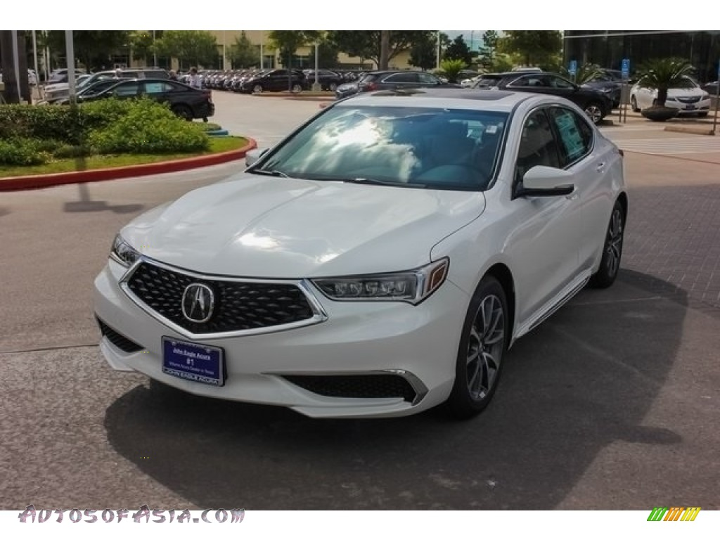 2018 TLX V6 Technology Sedan - Bellanova White Pearl / Ebony photo #3