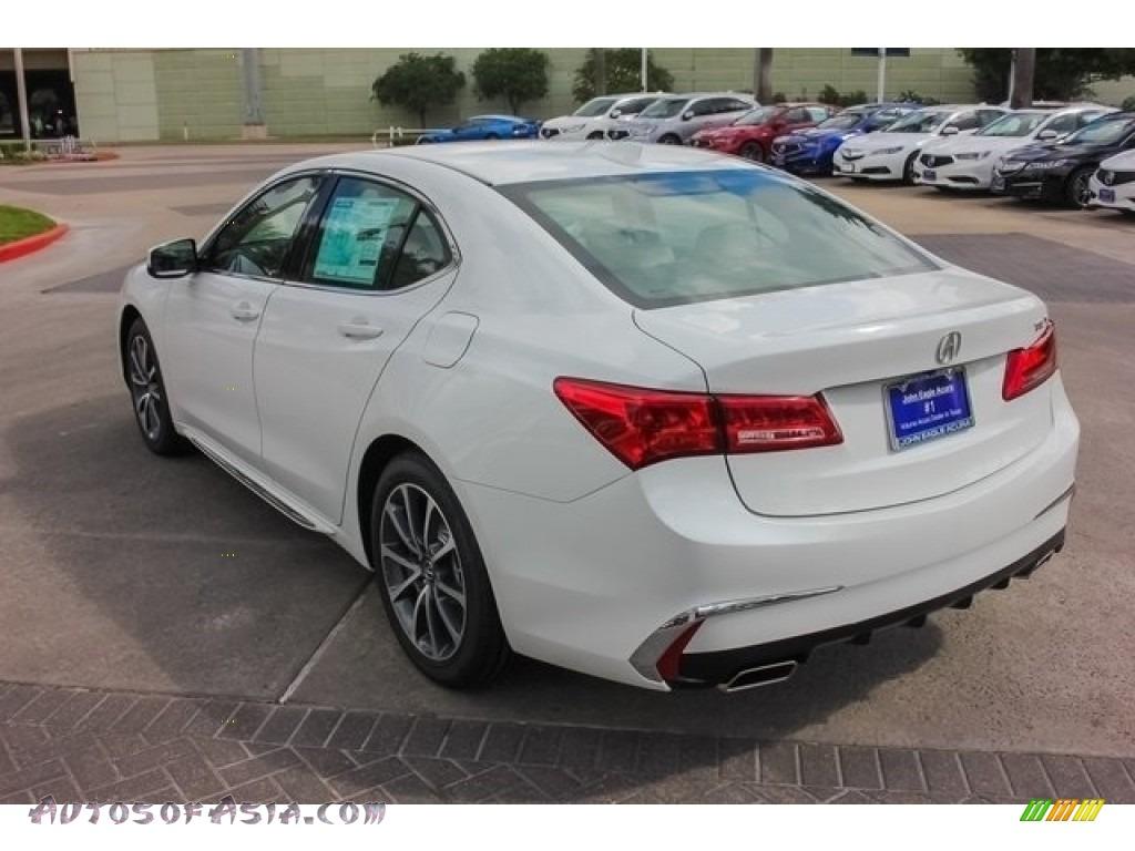 2018 TLX V6 Technology Sedan - Bellanova White Pearl / Ebony photo #5