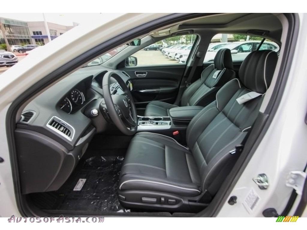 2018 TLX V6 Technology Sedan - Bellanova White Pearl / Ebony photo #15