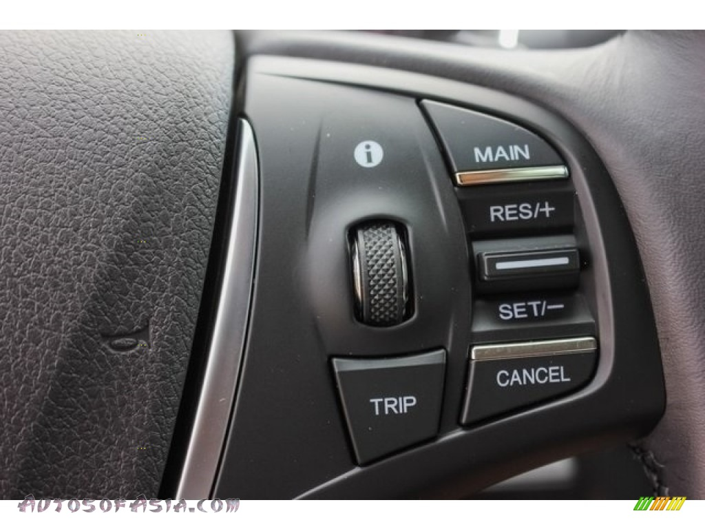 2018 TLX V6 Technology Sedan - Bellanova White Pearl / Ebony photo #39