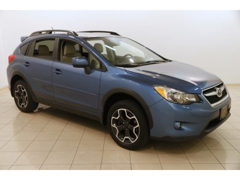 Quartz Blue Pearl 2014 Subaru XV Crosstrek 2.0i Limited