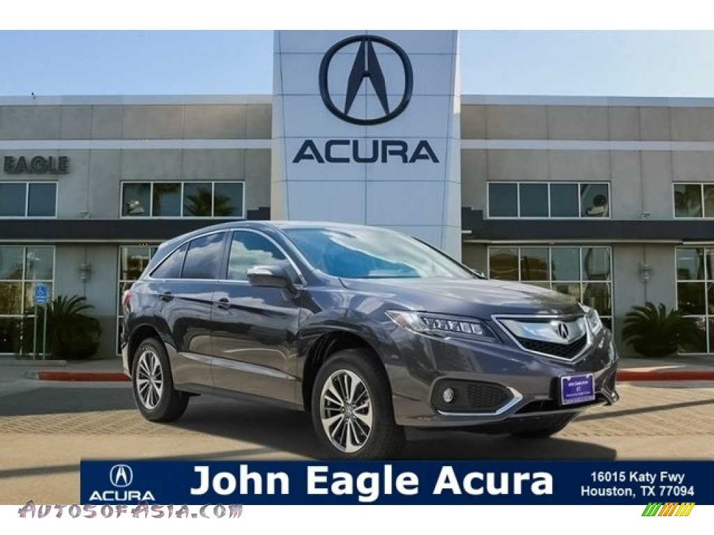Modern Steel Metallic / Ebony Acura RDX AWD Advance