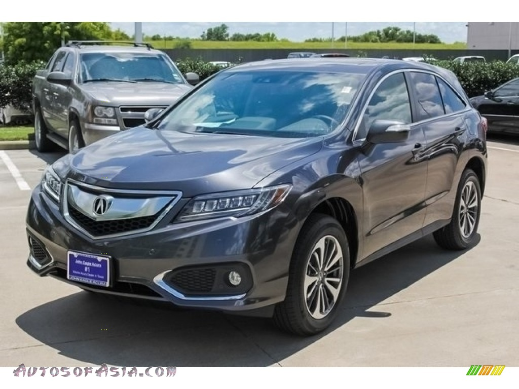 2018 RDX AWD Advance - Modern Steel Metallic / Ebony photo #3