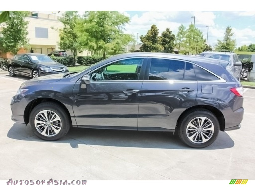 2018 RDX AWD Advance - Modern Steel Metallic / Ebony photo #4
