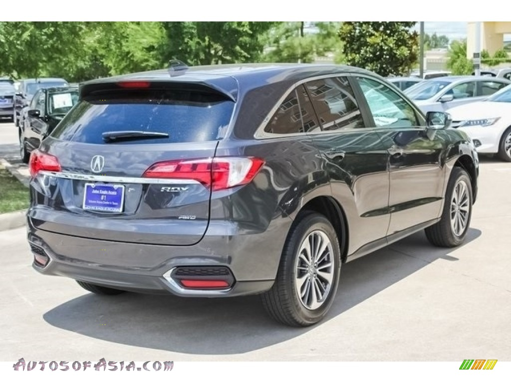 2018 RDX AWD Advance - Modern Steel Metallic / Ebony photo #7