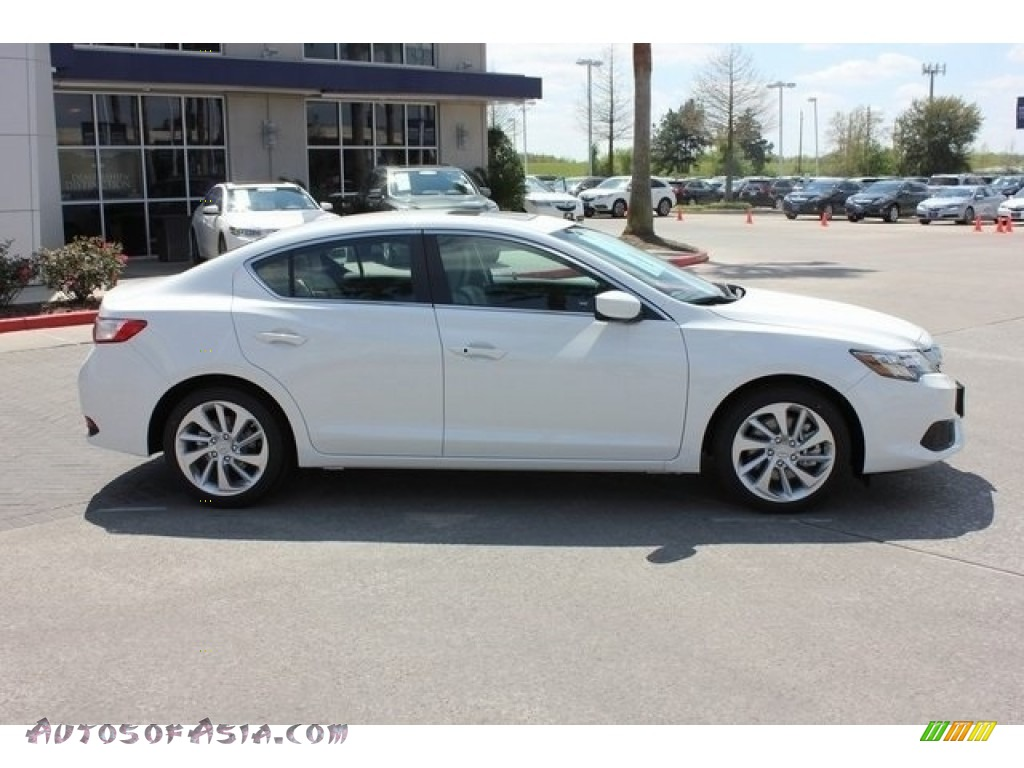 2018 ILX Premium - Bellanova White Pearl / Parchment photo #8