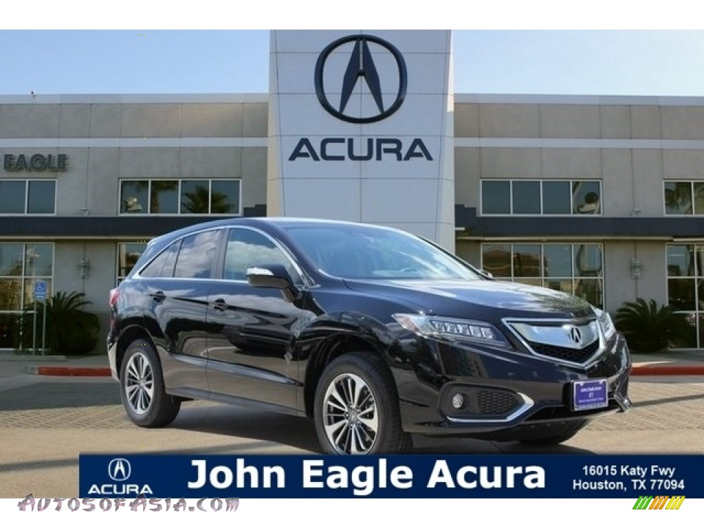 Crystal Black Pearl / Ebony Acura RDX FWD Advance
