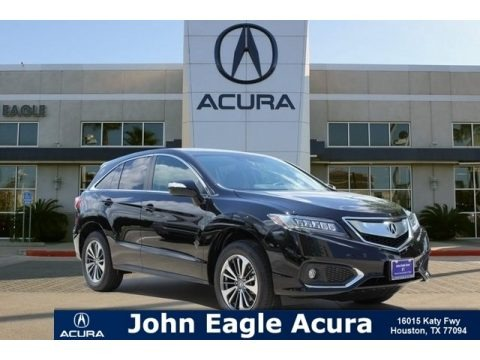 Crystal Black Pearl 2018 Acura RDX FWD Advance