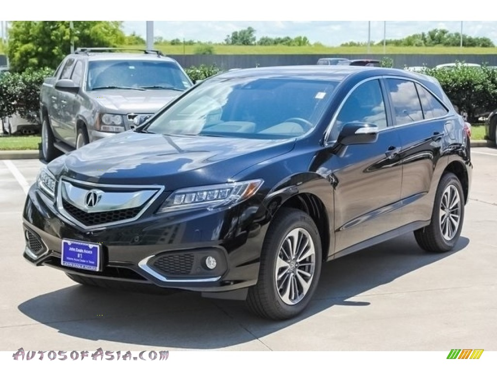 2018 RDX FWD Advance - Crystal Black Pearl / Ebony photo #3