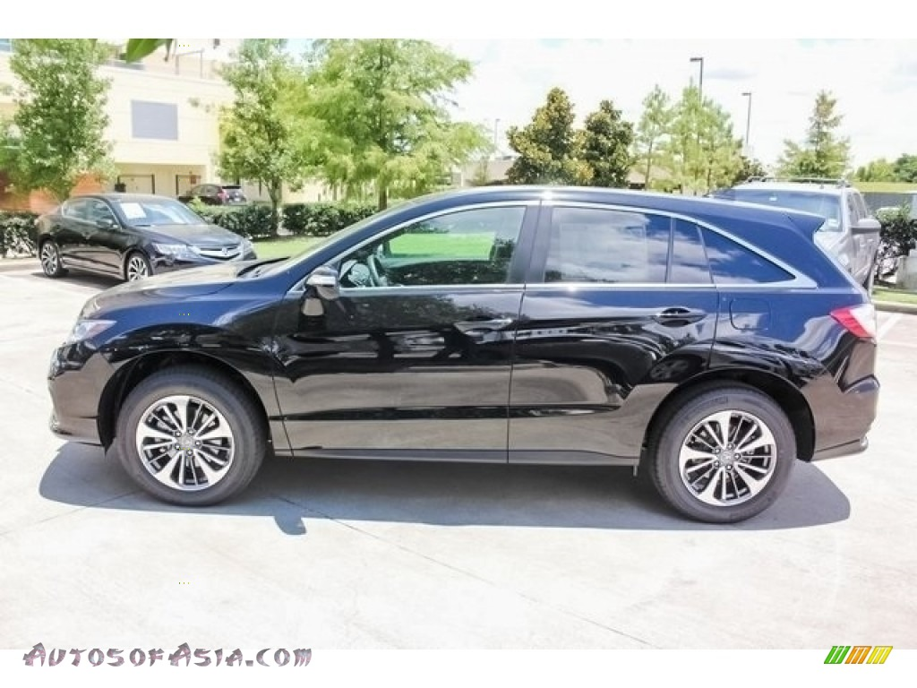 2018 RDX FWD Advance - Crystal Black Pearl / Ebony photo #4