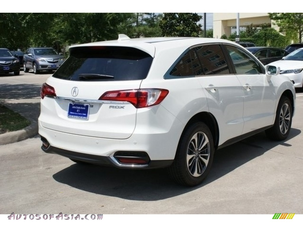 2018 RDX FWD Advance - White Diamond Pearl / Parchment photo #7