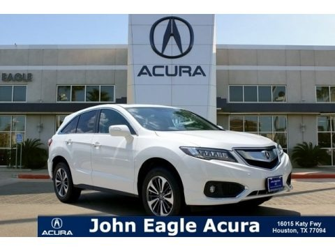 White Diamond Pearl 2018 Acura RDX FWD Advance