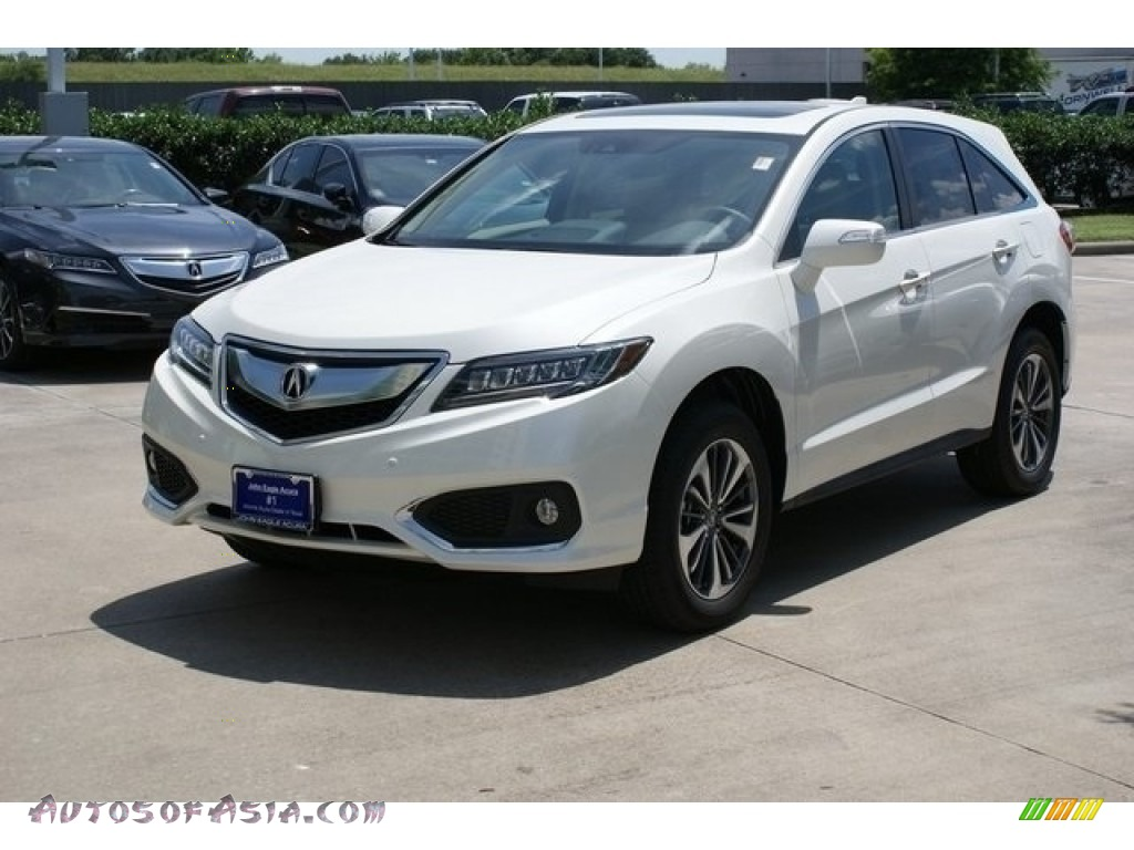 2018 RDX FWD Advance - White Diamond Pearl / Parchment photo #3