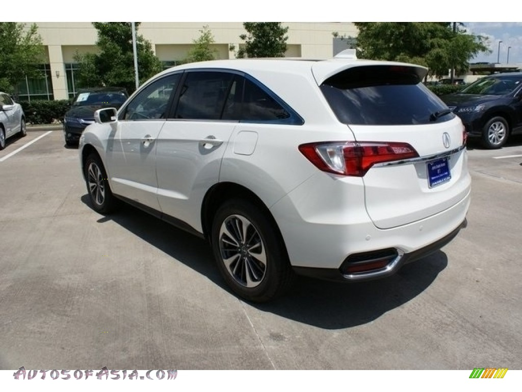 2018 RDX FWD Advance - White Diamond Pearl / Parchment photo #5