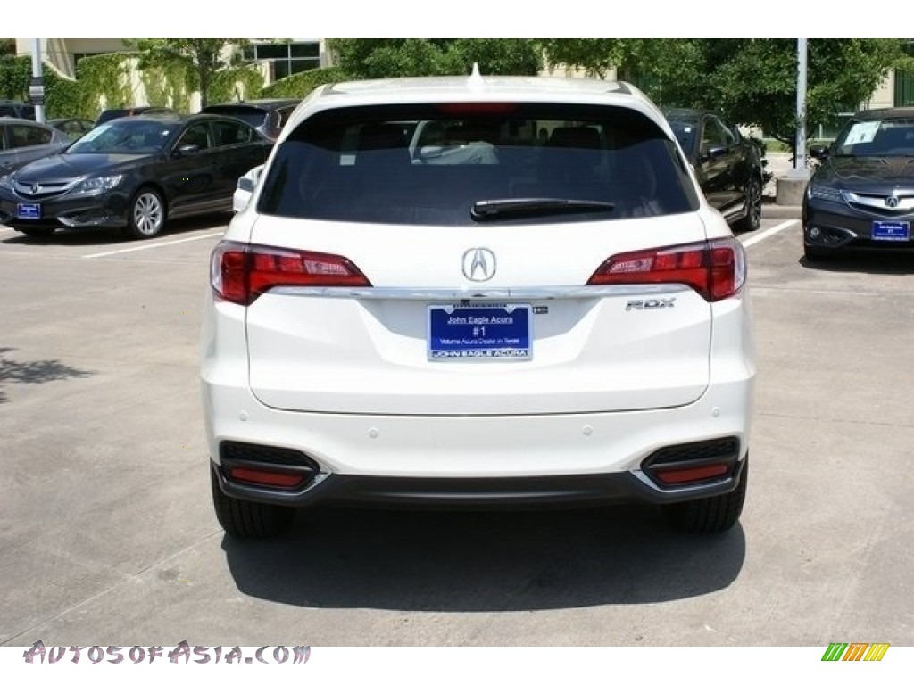 2018 RDX FWD Advance - White Diamond Pearl / Parchment photo #6