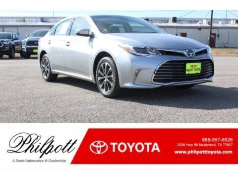 Celestial Silver Metallic 2018 Toyota Avalon XLE