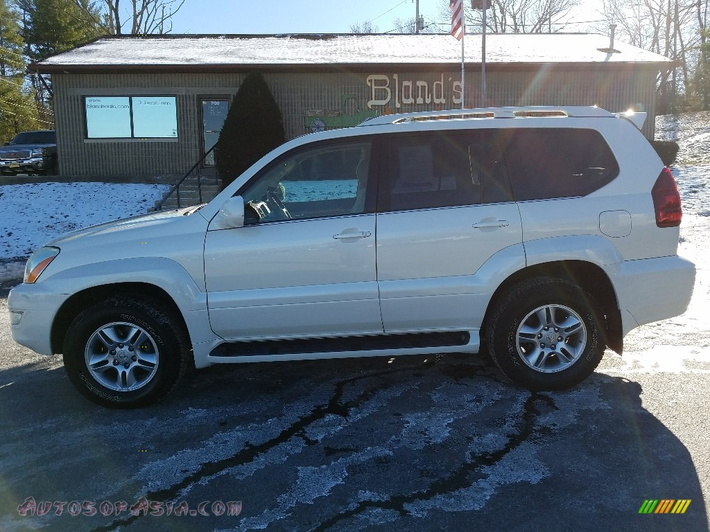 2005 GX 470 - Blizzard White Pearl / Ivory photo #1