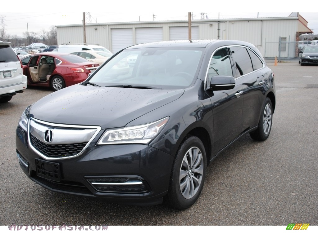 Graphite Luster Metallic / Graystone Acura MDX SH-AWD Technology