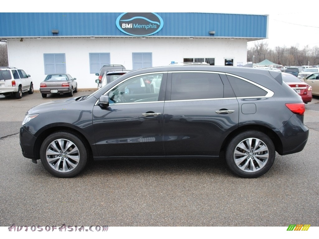 2015 MDX SH-AWD Technology - Graphite Luster Metallic / Graystone photo #2