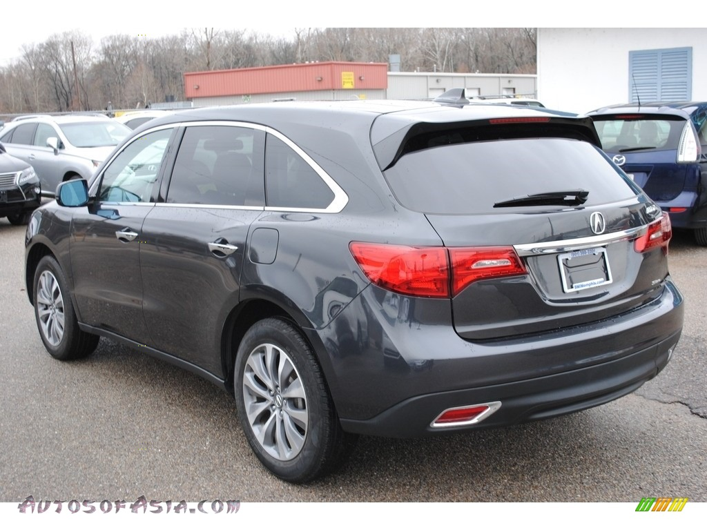 2015 MDX SH-AWD Technology - Graphite Luster Metallic / Graystone photo #3