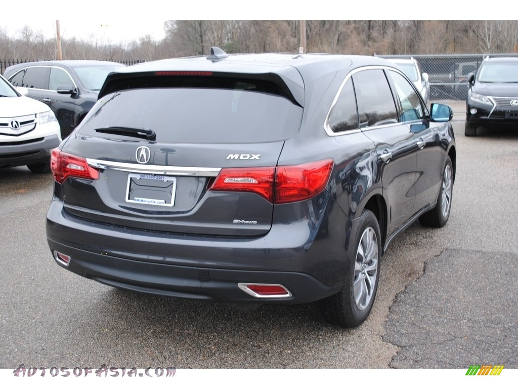 2015 MDX SH-AWD Technology - Graphite Luster Metallic / Graystone photo #5