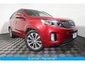 Kia Sorento SX V6 AWD Remington Red photo #1