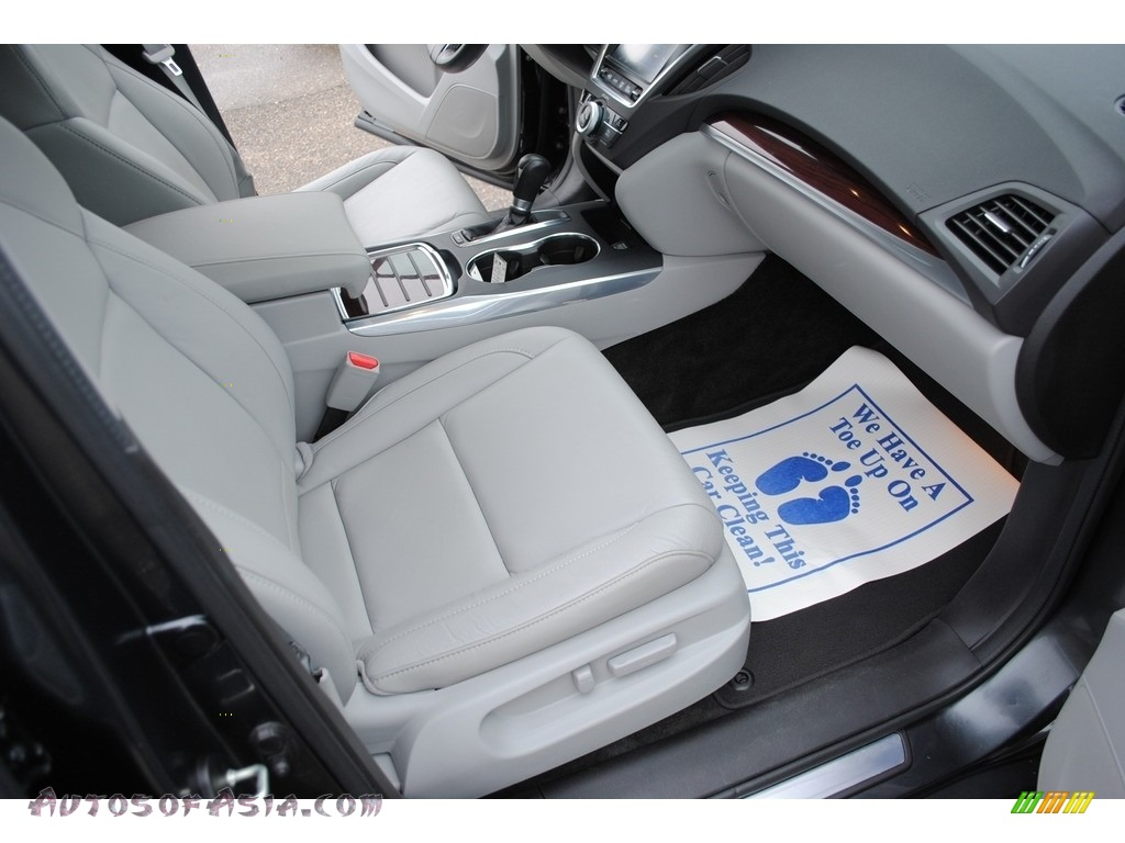 2015 MDX SH-AWD Technology - Graphite Luster Metallic / Graystone photo #31