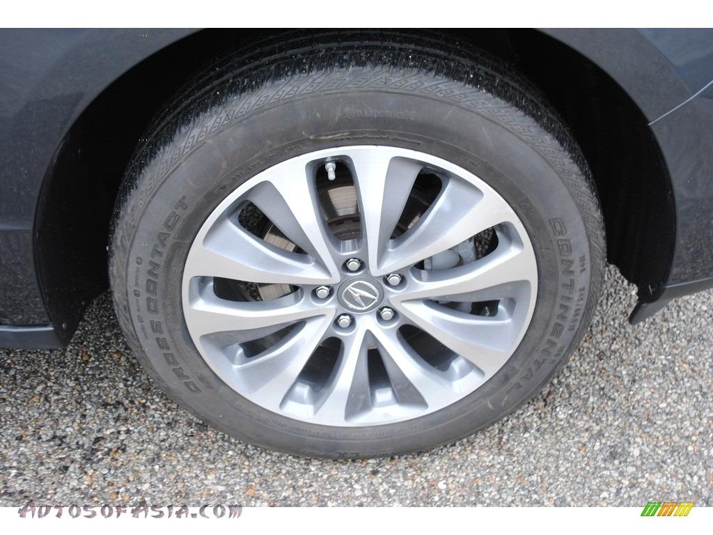 2015 MDX SH-AWD Technology - Graphite Luster Metallic / Graystone photo #35