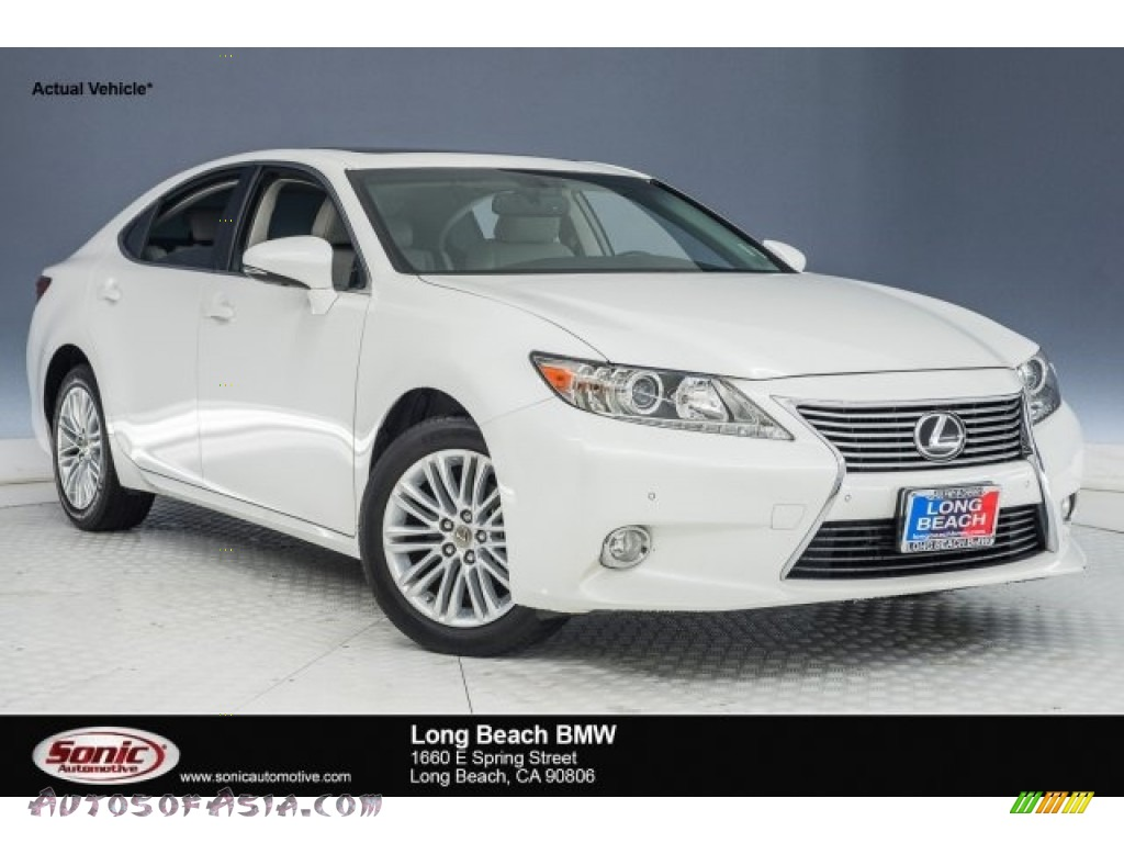 2014 ES 350 - Fire Agate Pearl / Light Gray photo #1