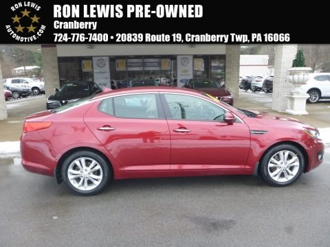 Remington Red 2013 Kia Optima EX