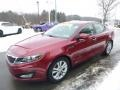 Kia Optima EX Remington Red photo #5