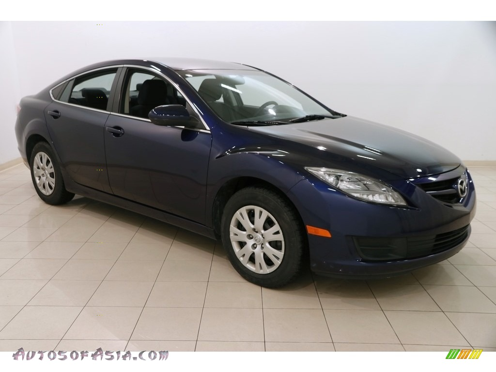 2010 MAZDA6 i Sport Sedan - Kona Blue Mica / Black photo #1
