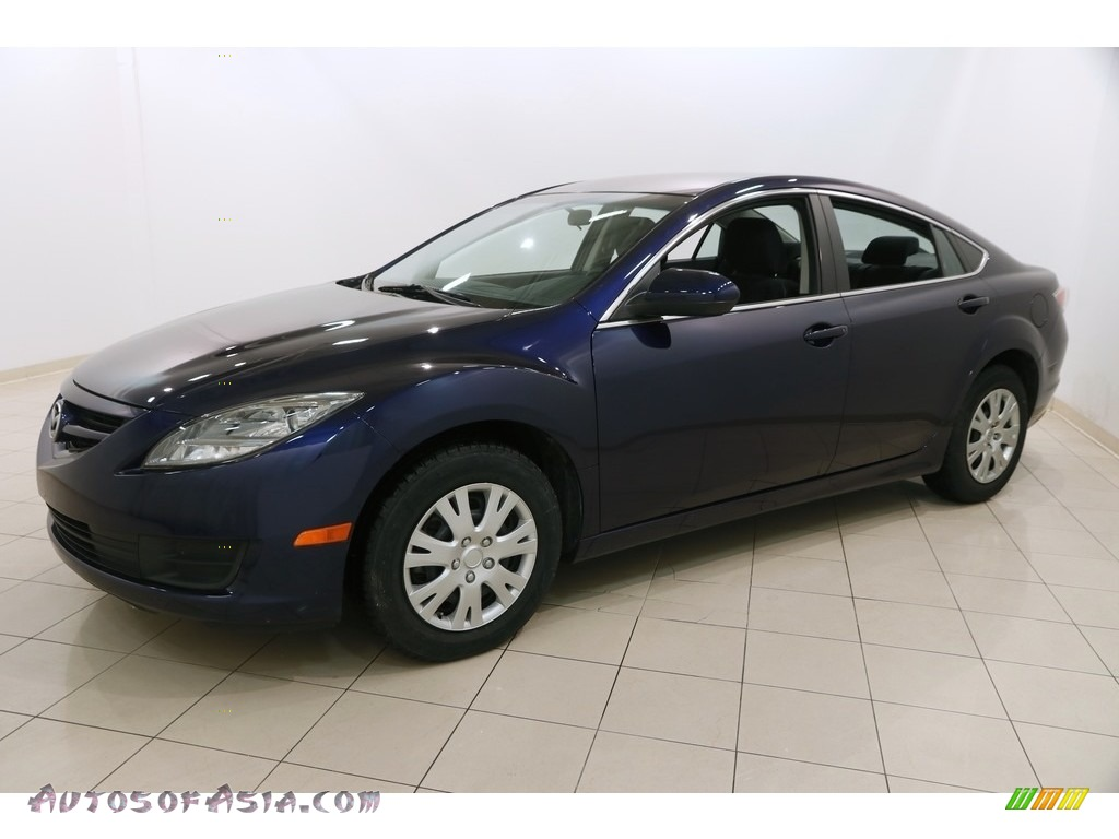 2010 MAZDA6 i Sport Sedan - Kona Blue Mica / Black photo #3