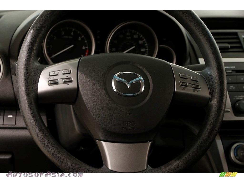 2010 MAZDA6 i Sport Sedan - Kona Blue Mica / Black photo #6