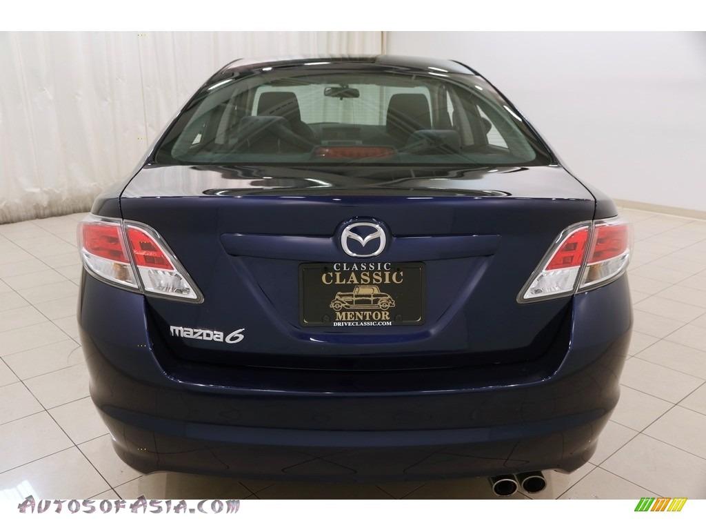 2010 MAZDA6 i Sport Sedan - Kona Blue Mica / Black photo #19