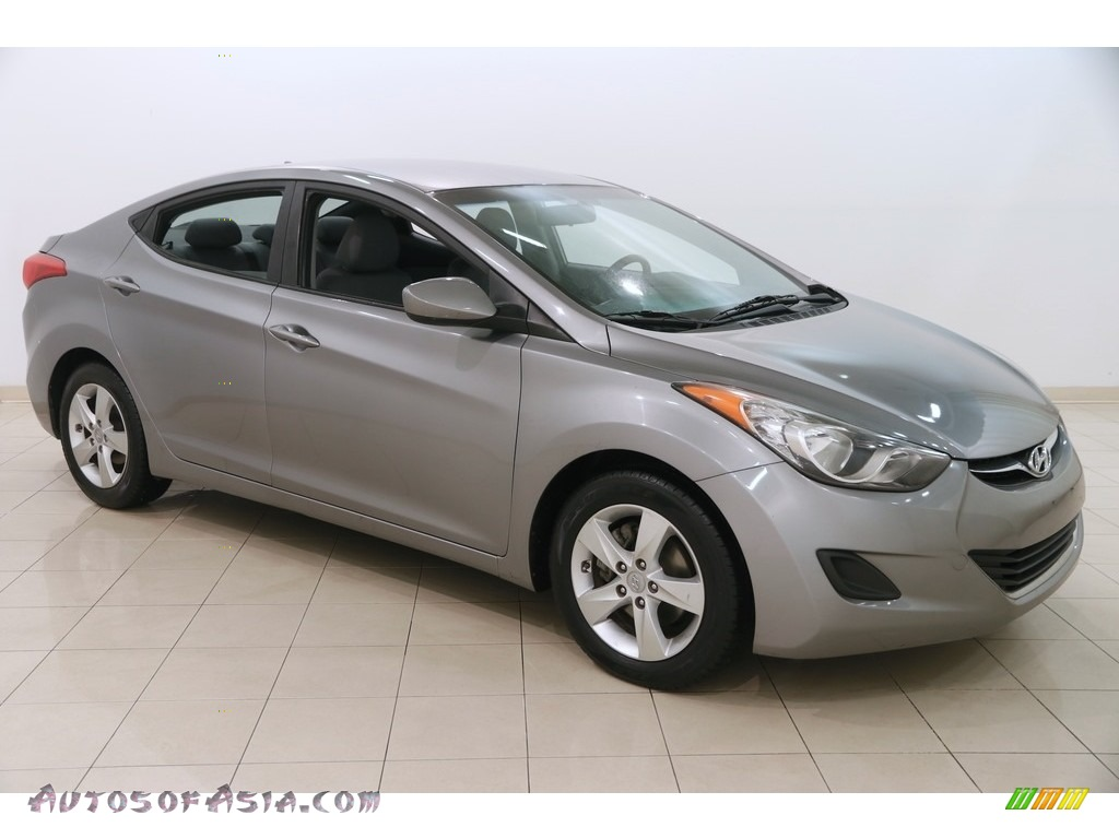 2011 Elantra GLS - Titanium Gray Metallic / Gray photo #1