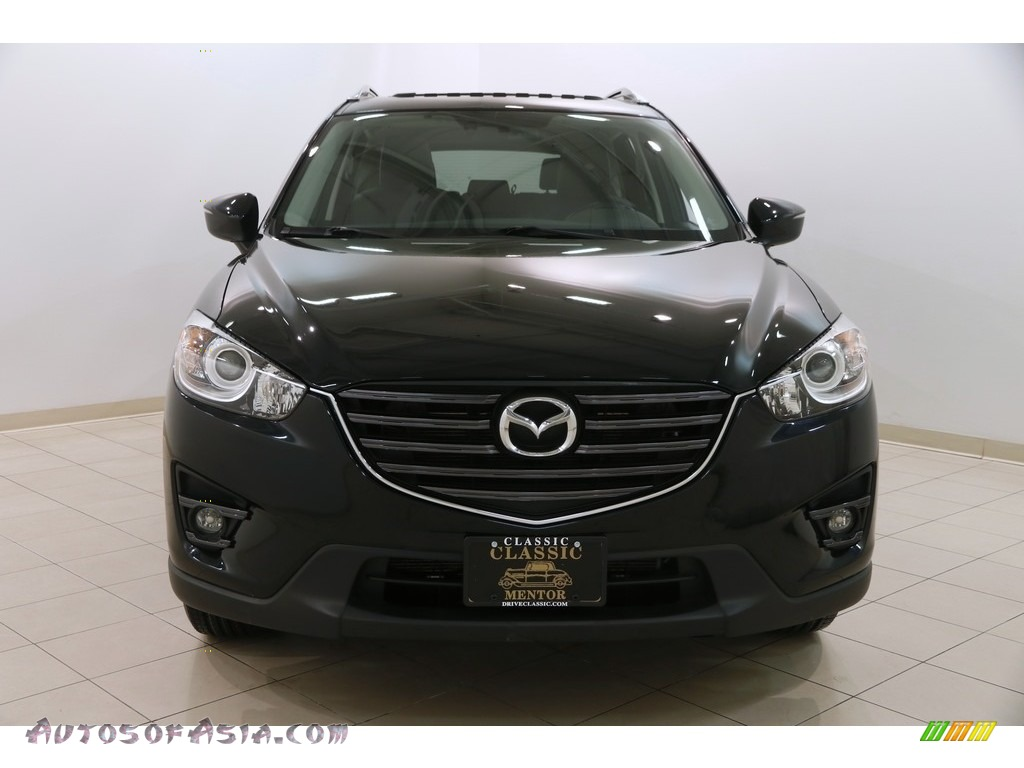 2016 CX-5 Grand Touring AWD - Jet Black Mica / Black photo #2
