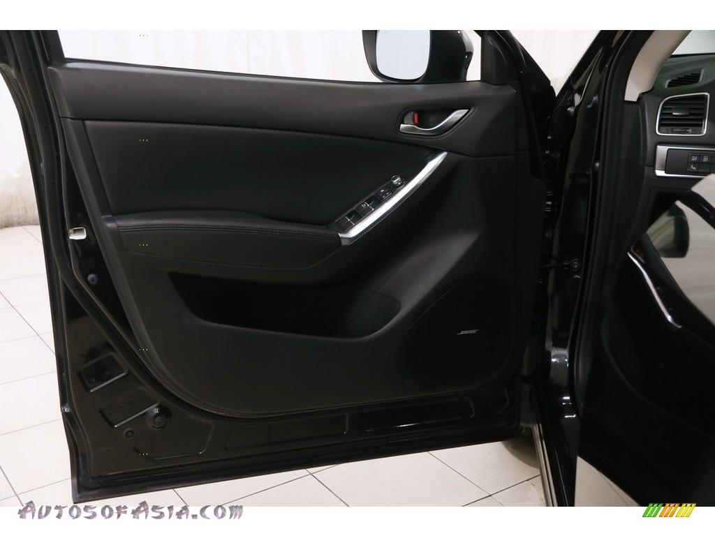2016 CX-5 Grand Touring AWD - Jet Black Mica / Black photo #4