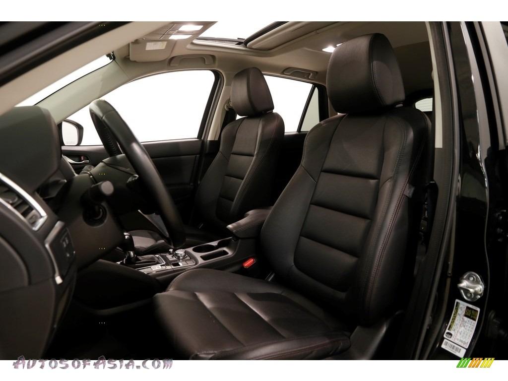 2016 CX-5 Grand Touring AWD - Jet Black Mica / Black photo #5