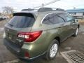 Subaru Outback 2.5i Premium Wilderness Green Metallic photo #4