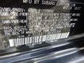 Subaru Crosstrek 2.0i Dark Gray Metallic photo #14