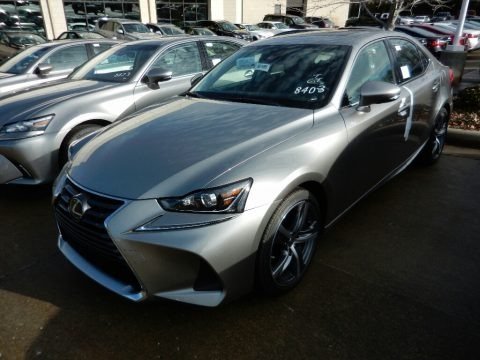 Atomic Silver 2018 Lexus IS 300 AWD