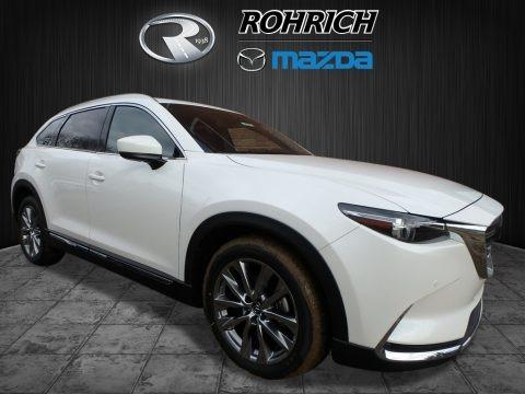 Snowflake White Pearl Mica 2018 Mazda CX-9 Signature AWD