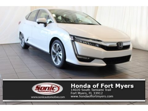 Platinum White Pearl 2018 Honda Clarity Touring Plug In Hybrid