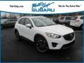 Mazda CX-5 Grand Touring AWD Crystal White Pearl Mica photo #1