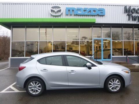 Sonic Silver Metallic 2018 Mazda MAZDA3 Sport 5 Door