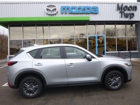 Sonic Silver Metallic 2017 Mazda CX-5 Sport AWD