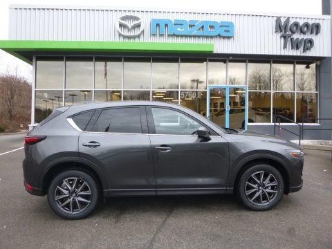 Machine Gray Metallic 2018 Mazda CX-5 Grand Touring AWD