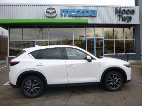 Snowflake White Pearl Mica 2018 Mazda CX-5 Grand Touring AWD
