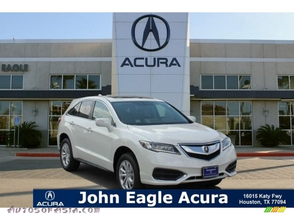 White Diamond Pearl / Parchment Acura RDX AWD Technology